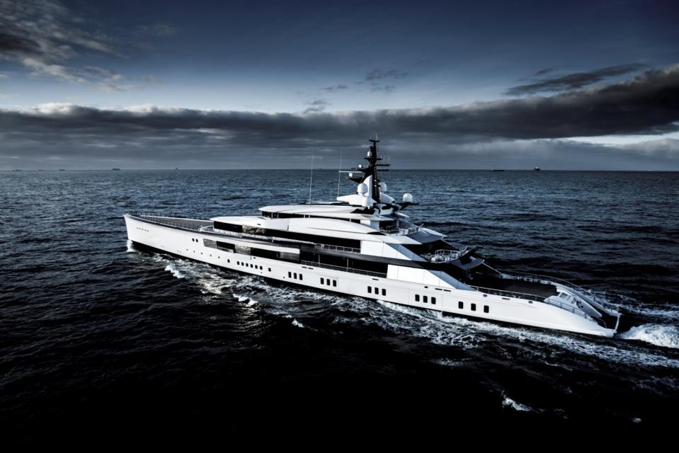Jerry Jones just conducted the Dallas Cowboy's draft from his 357-foot-long superyacht Bravo Eugina.
