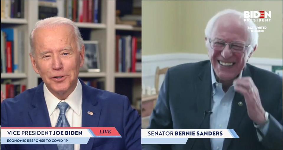 Sen. Bernie Sanders Endorses Joe Biden For President