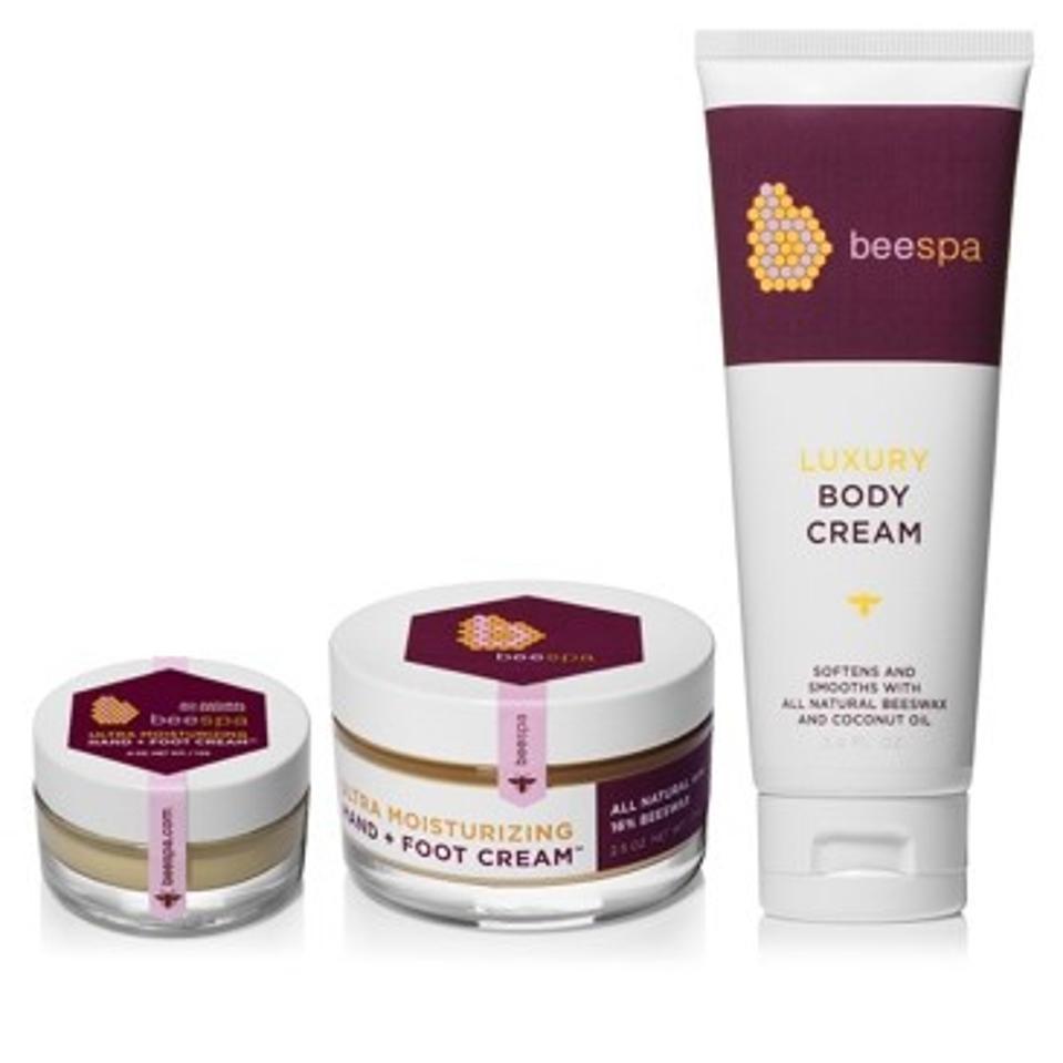 BeeSpa Luxury Total Body and Moisturizing Hand + Foot Cream