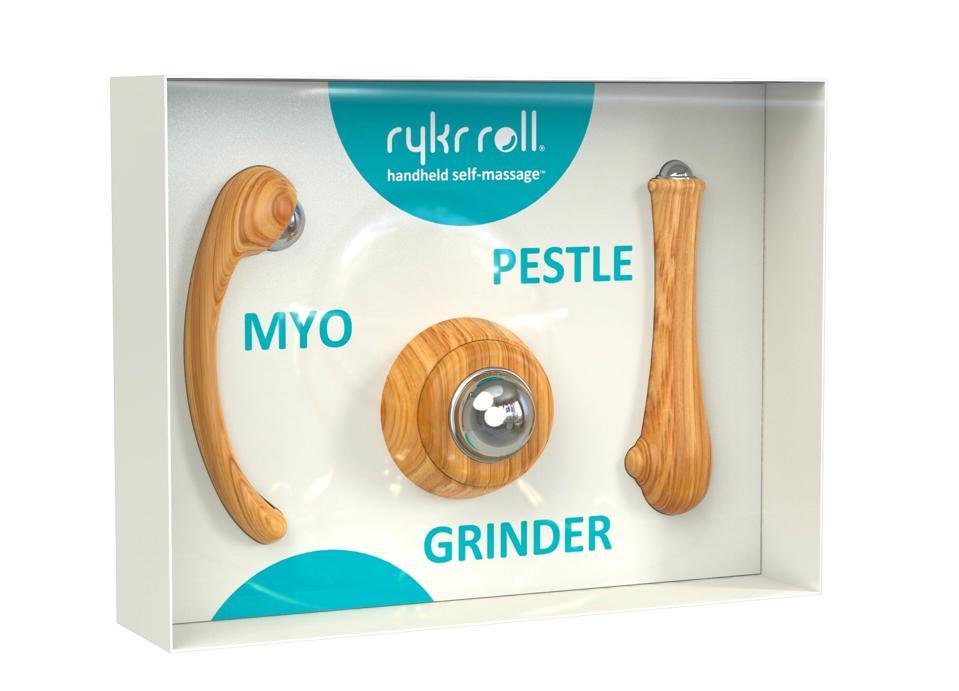 rykr roll handheld self-massage tools