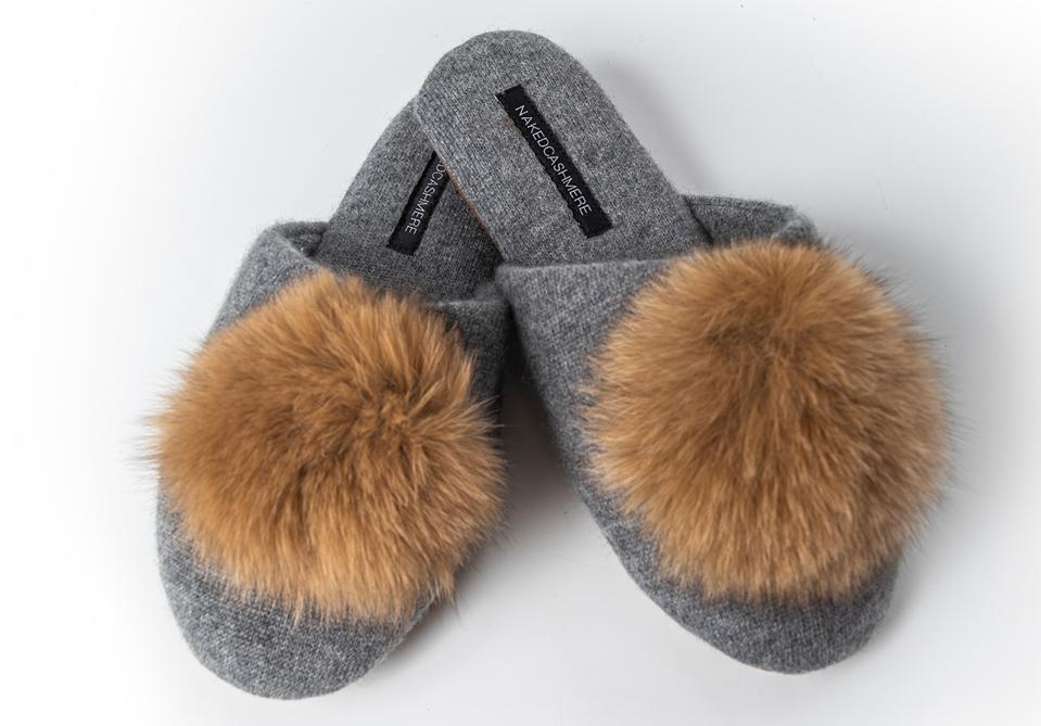 Naked Cashmere Puff Slipper