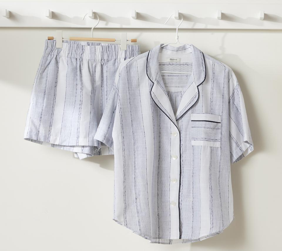 Madewell for Parachute Striped Oversized PJ Set
