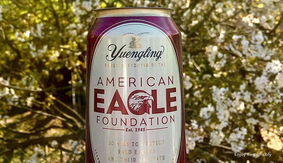 Limited-Edition American Eagle Foundation Yuengling Can