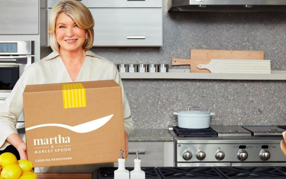 Martha & Marley Spoon Martha Stewart's Meal Delivery Service