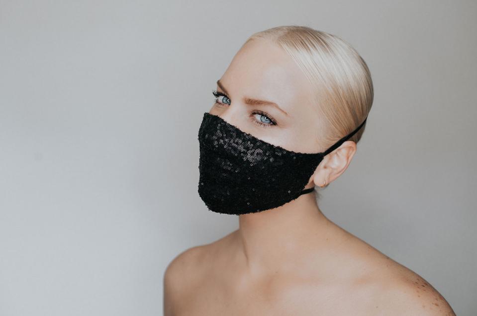 Katie May Disco Ball Mask