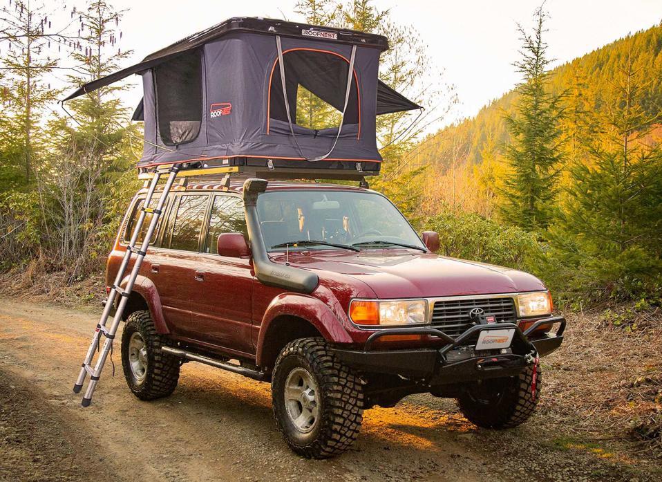 Roofnest Sparrow XL folding car top tent