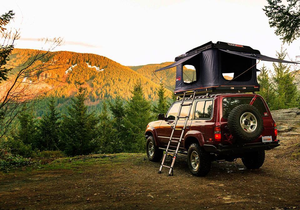 Roofnest Sparrow XL car top tent