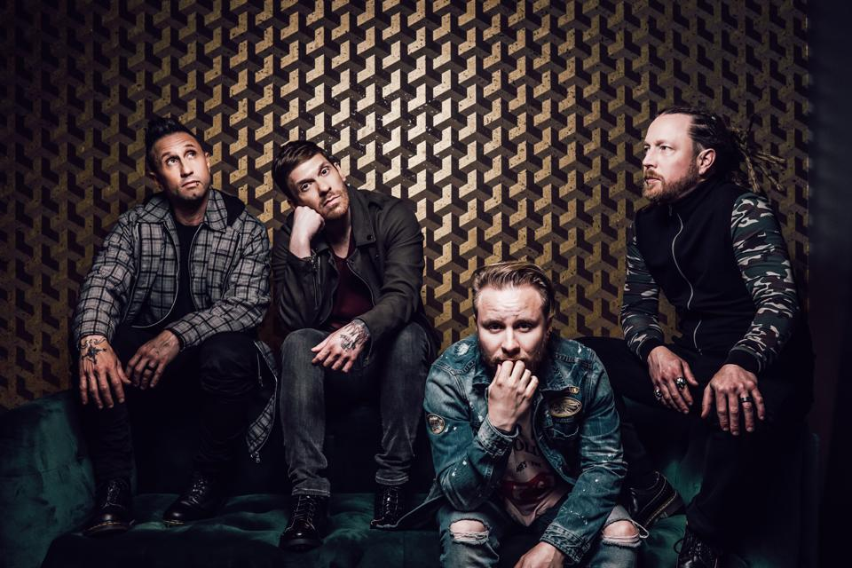 Rock act Shinedown has raised nearly $250,000 via the sale of a special t-shirt and song download bundle to benefit COVID-19 first responders via Direct Relief (Photo by Sanjay Parikh)