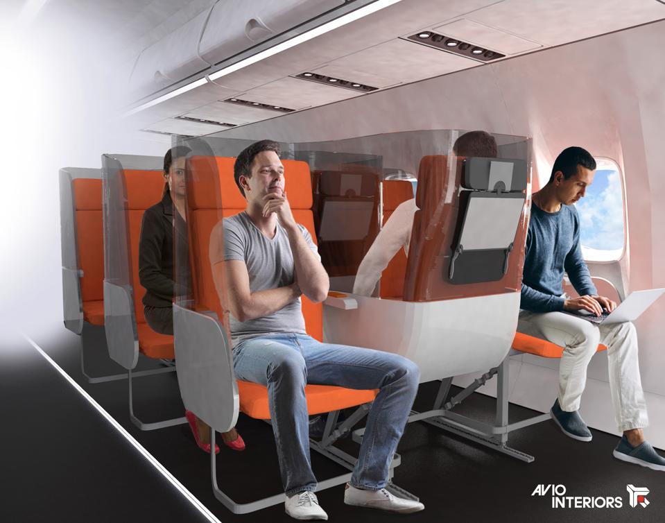 Janus seat concept from Aviointeriors