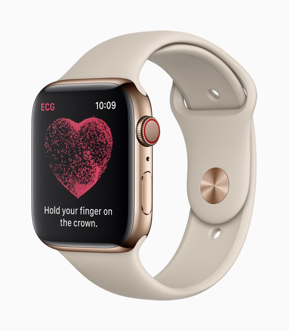 The ECG capability on Apple Watch is already extremely useful