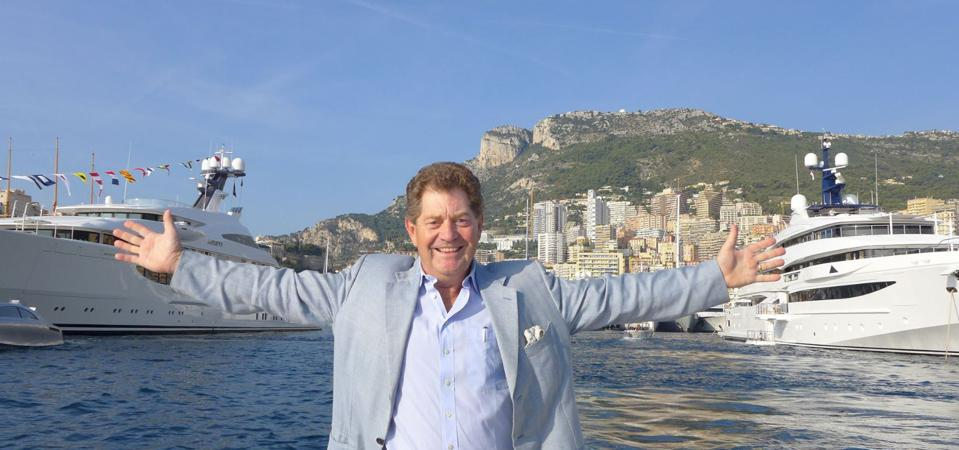 Andrew Winch during the Monaco Yacht Show with MY Amatasia and MY Odyssey