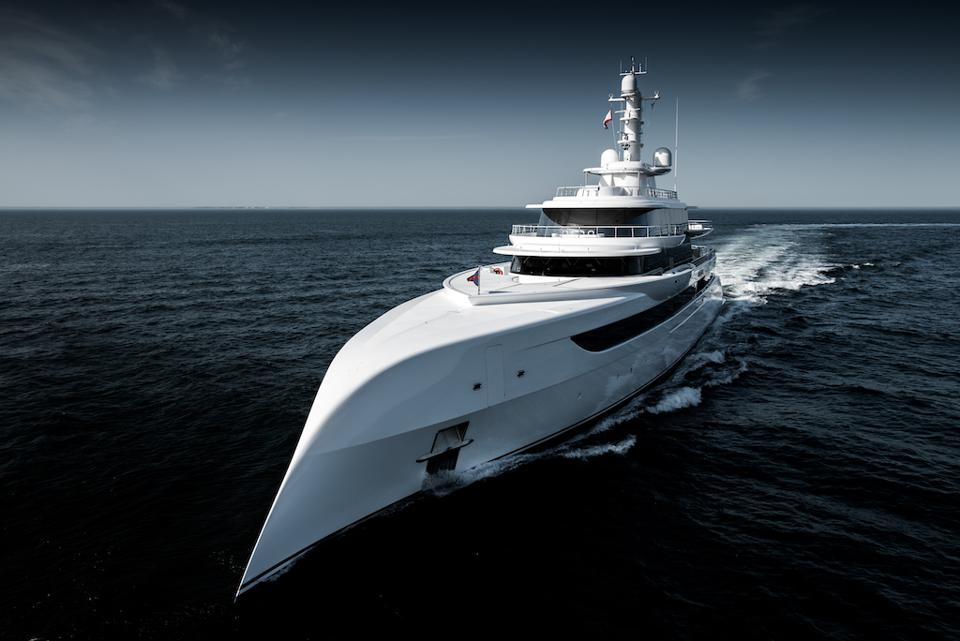 Billionaire automobile dealership owner Herb Chambers picked Winch Design to design his award-winning superyacht Excellence