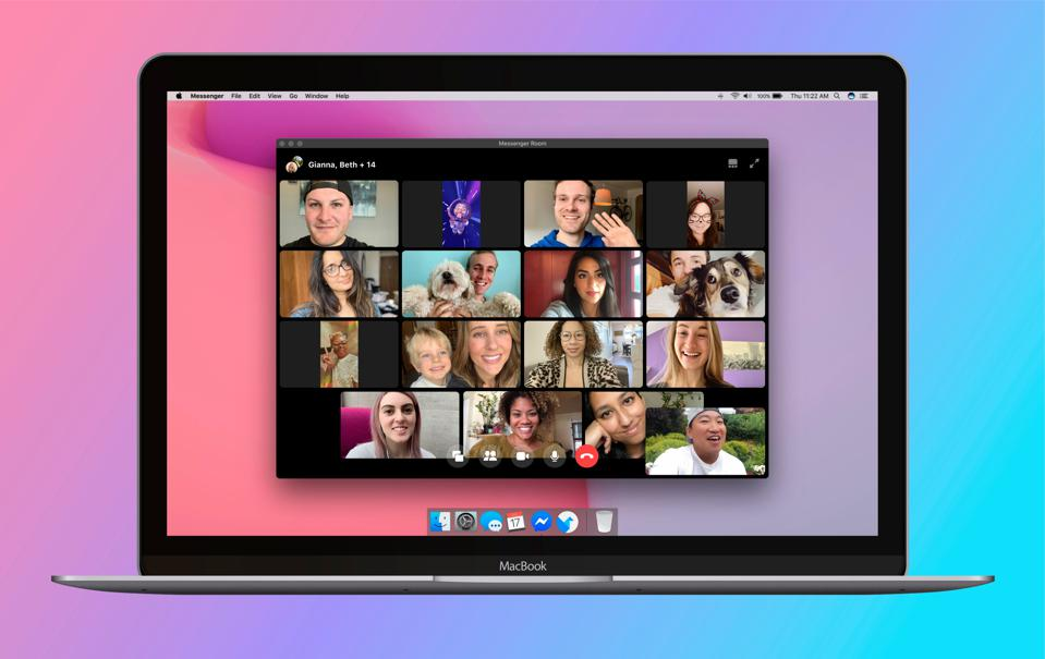 Messenger-Rooms-Video-Chat-Macbook