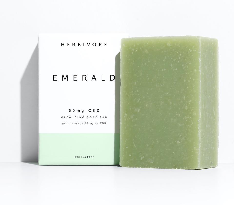 Herbivore EMERALD CBD SOAP