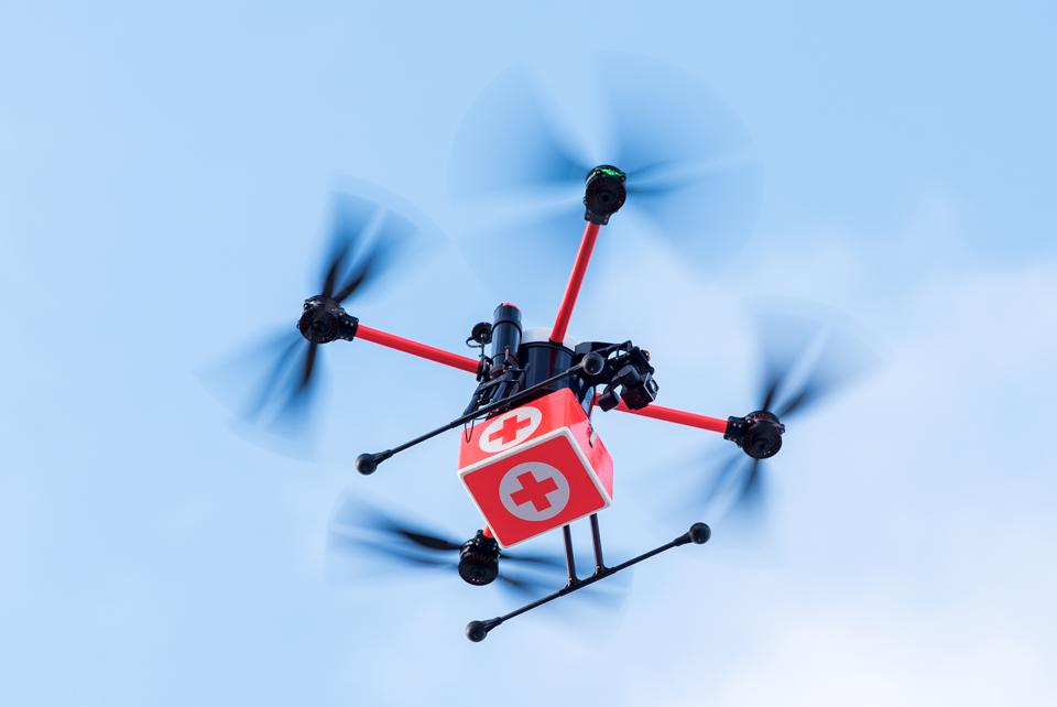 Medifly tests medical transport with drone