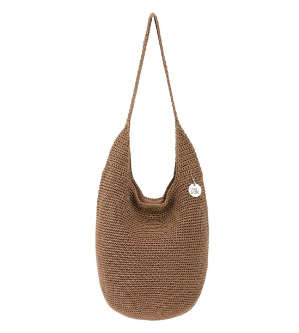 The Sak 120 Hobo made using Oceanworks certified yarn