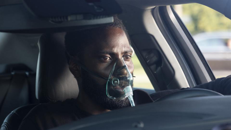 John David Washington in Chris Nolans' 'Tenet'