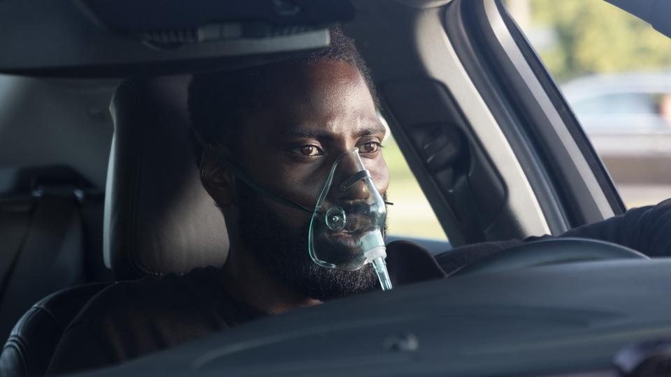 John David Washington in Chris Nolans' 'Tenet'