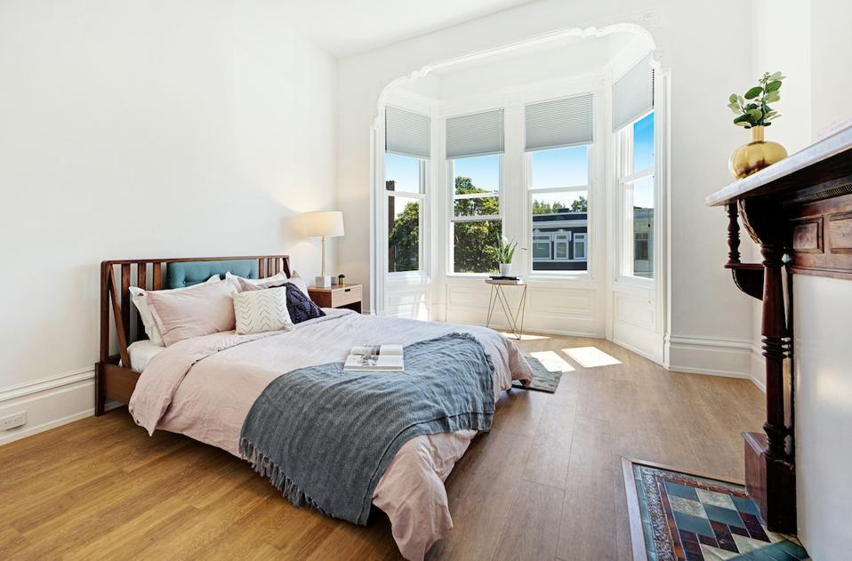 Starcity bedroom interior in San Francisco