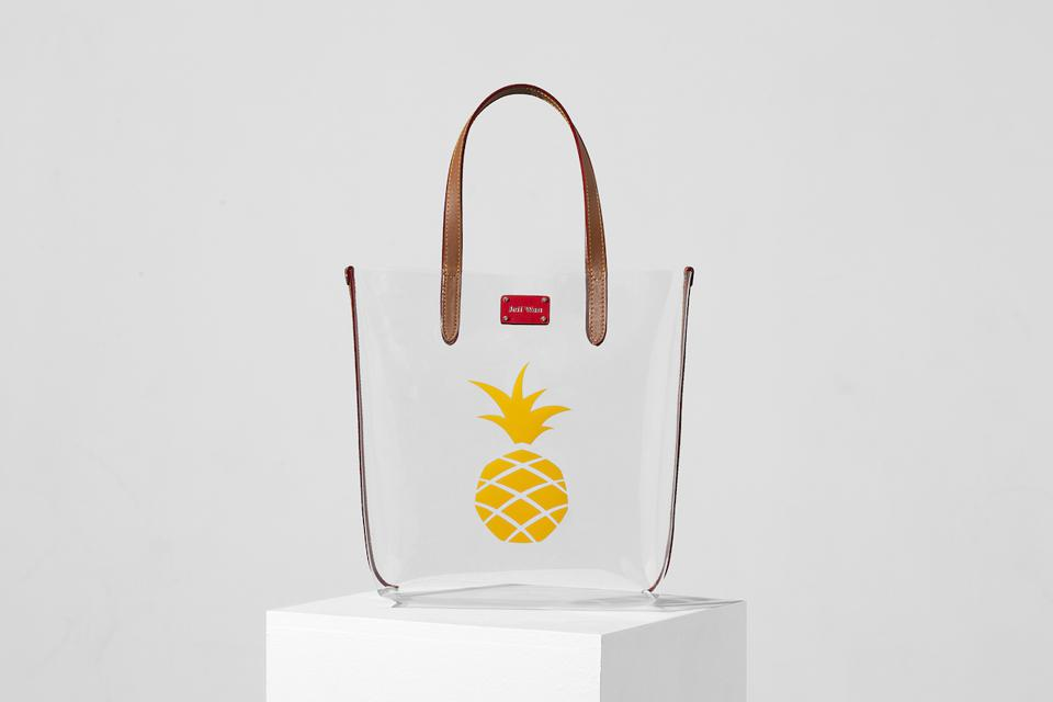 Bazar Tote with Pineapple from Jeff Wan