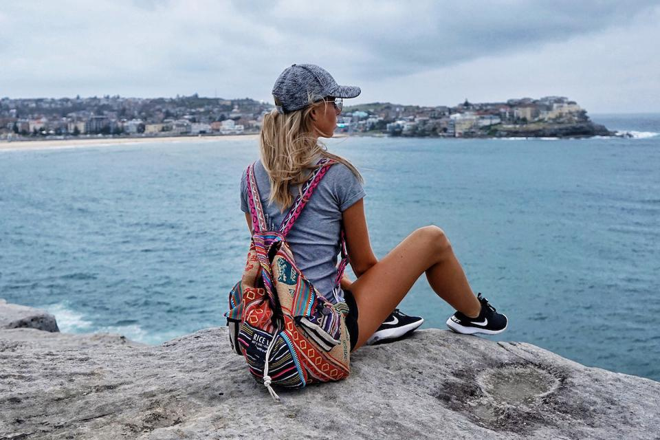 Recycled Travel Backpack from Rice Love