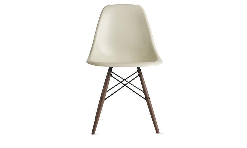 Design Within Reach Eames Molded Fiberglass Dowel-Leg Side Chair
