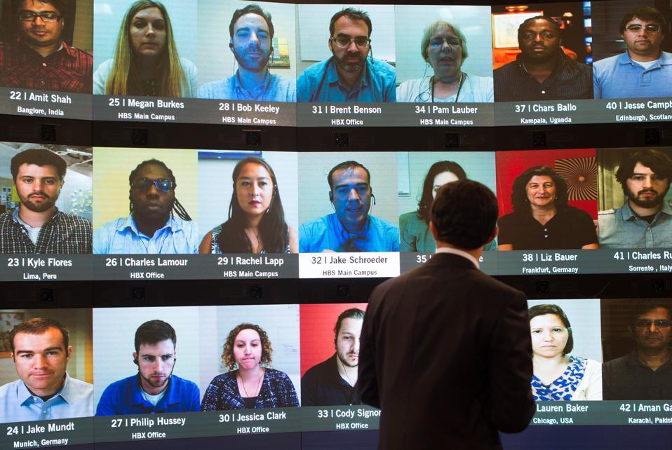 Harvard Online Classroom