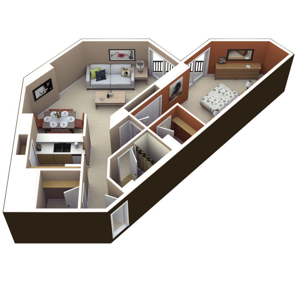 Asbury Plaza floor plan