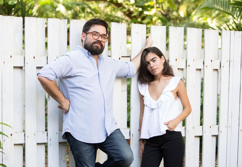 Francisco Tirado, cofounder of PRoduce, and Laura Tirado, cofounder and CEO of UVA