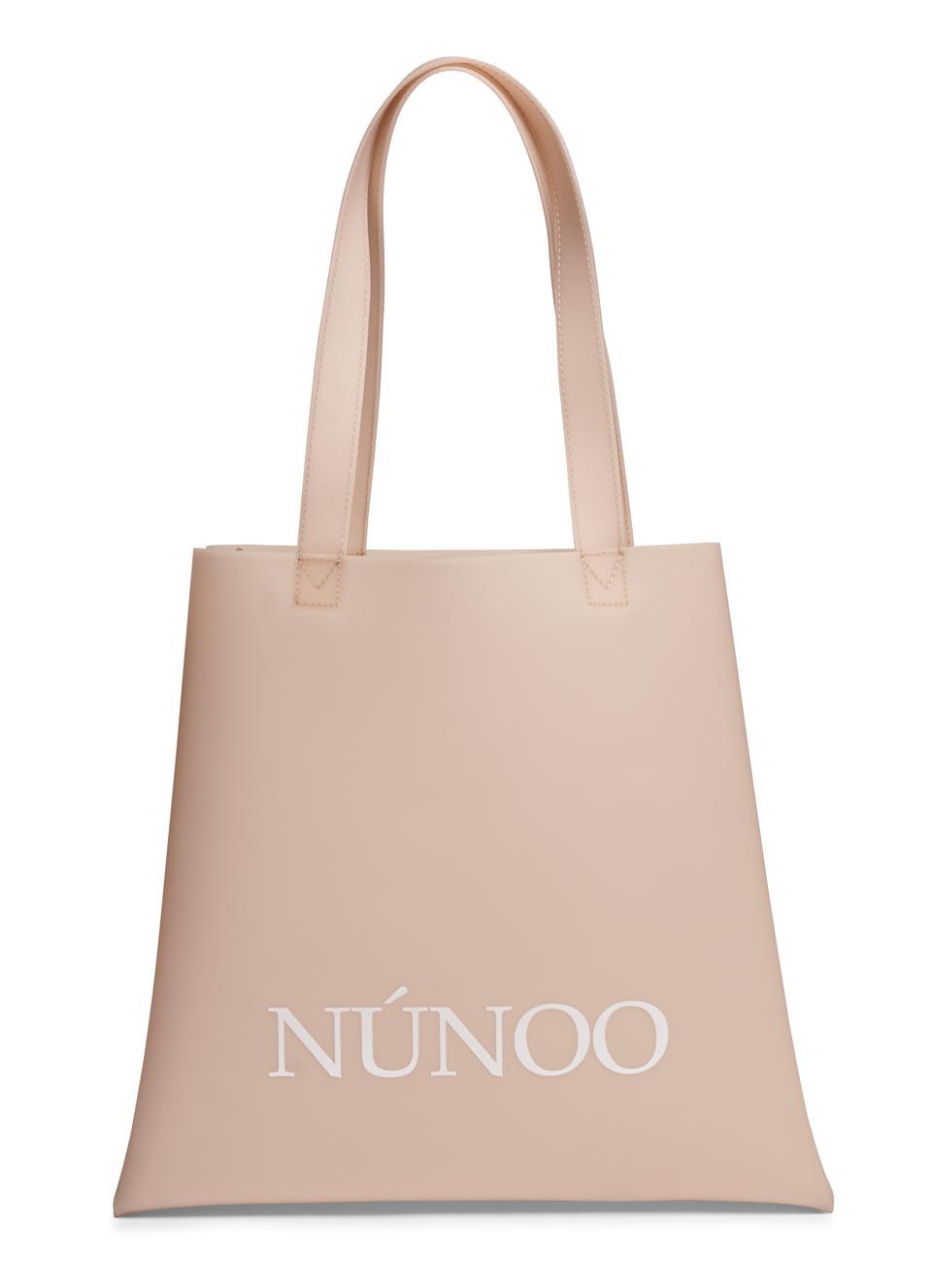 NUNOO Pink Tote Eco Plastic