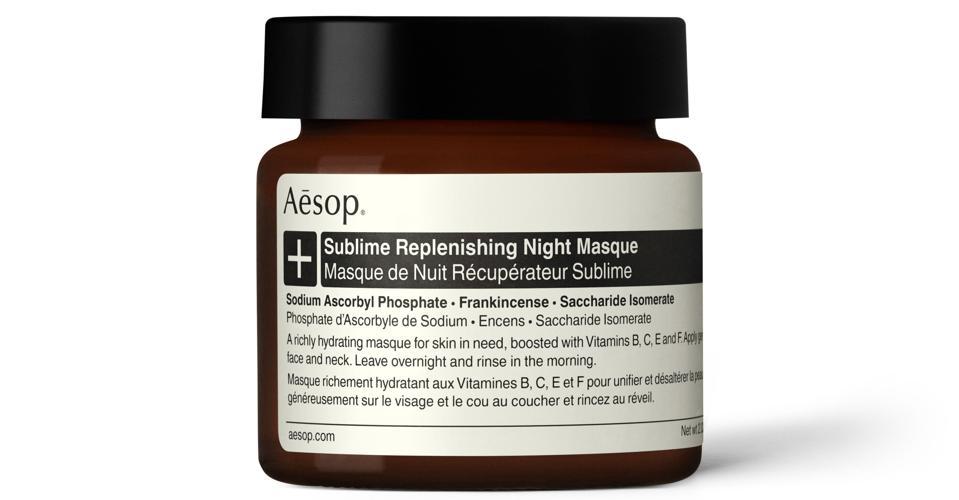 Masque de nuit régénérant sublime Aesop