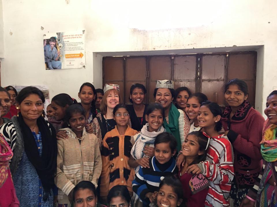 Cynthia Steele, CEO of EMpower, visited Jan Sahas, their partner in Madhya Pradesh.