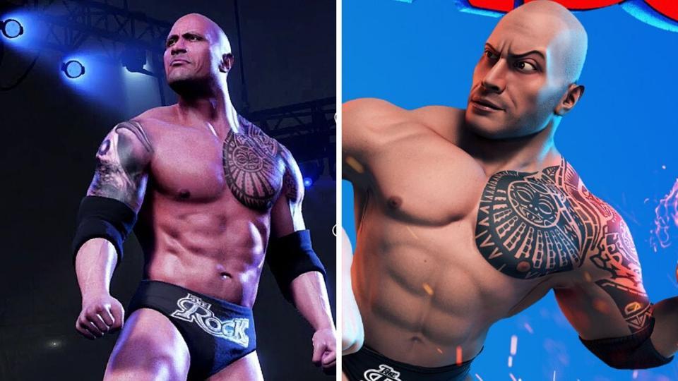 WWE 2K21 and WWE 2K Battlegrounds