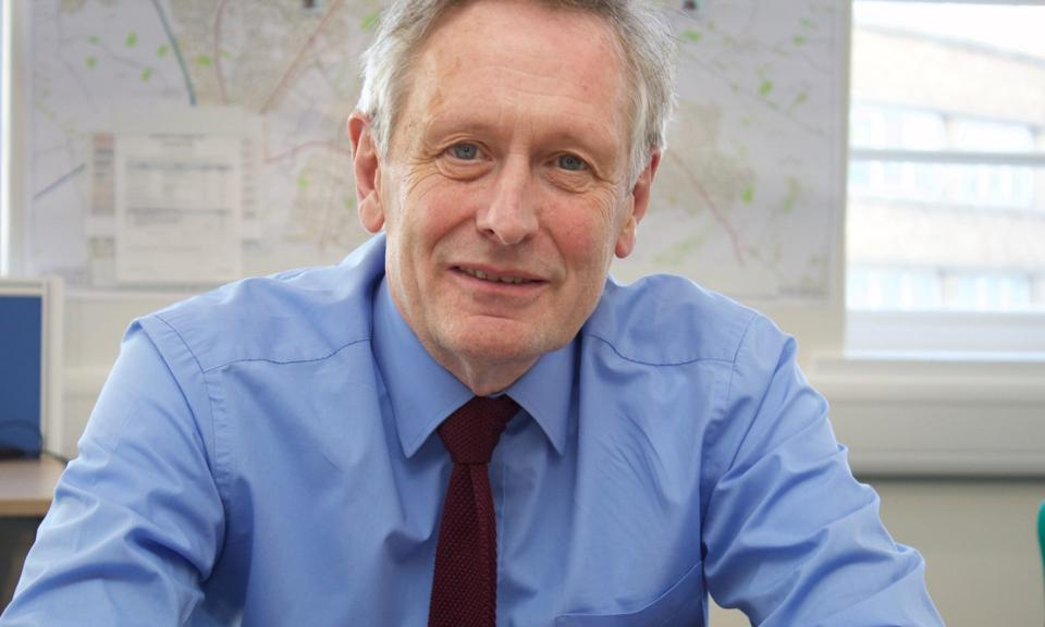 Mayor of Leicester, Sir Peter Soulsby.