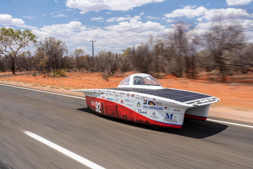 Teams average around 50mph as they cover roughly 350 miles per day.