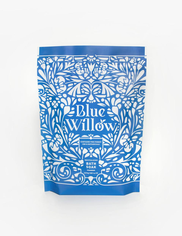 Blue Willow, CBD bath soaks, CBD wellness, luxury cannabis, Mother's Day CBD gifts