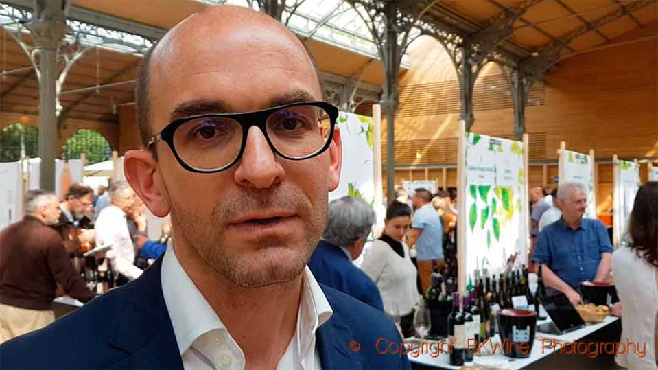 Maxime Debure, founder and CEO of WineFunding