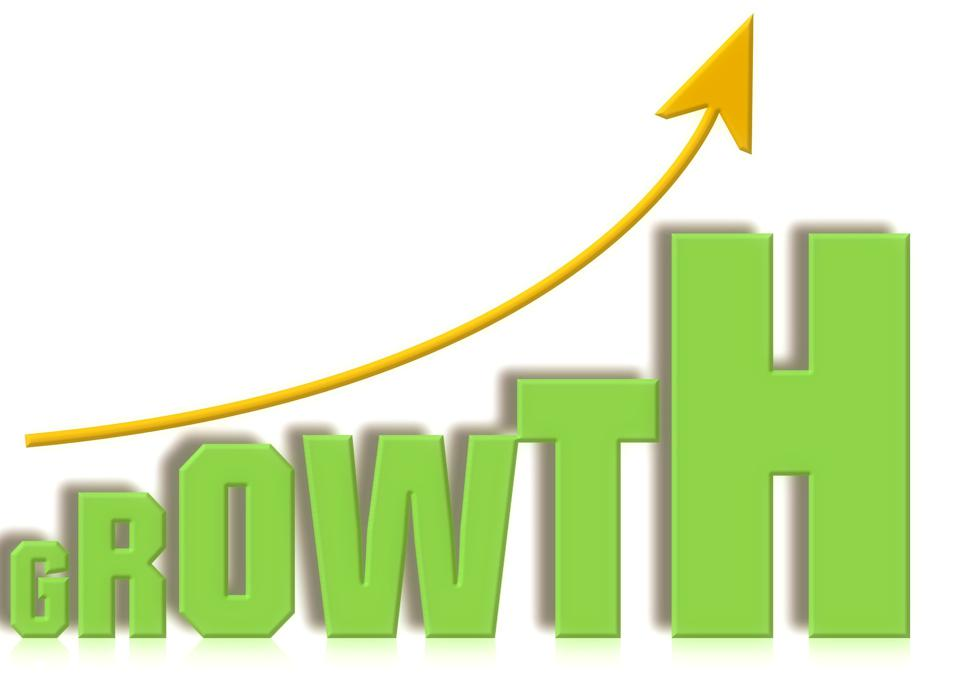growth, up curve