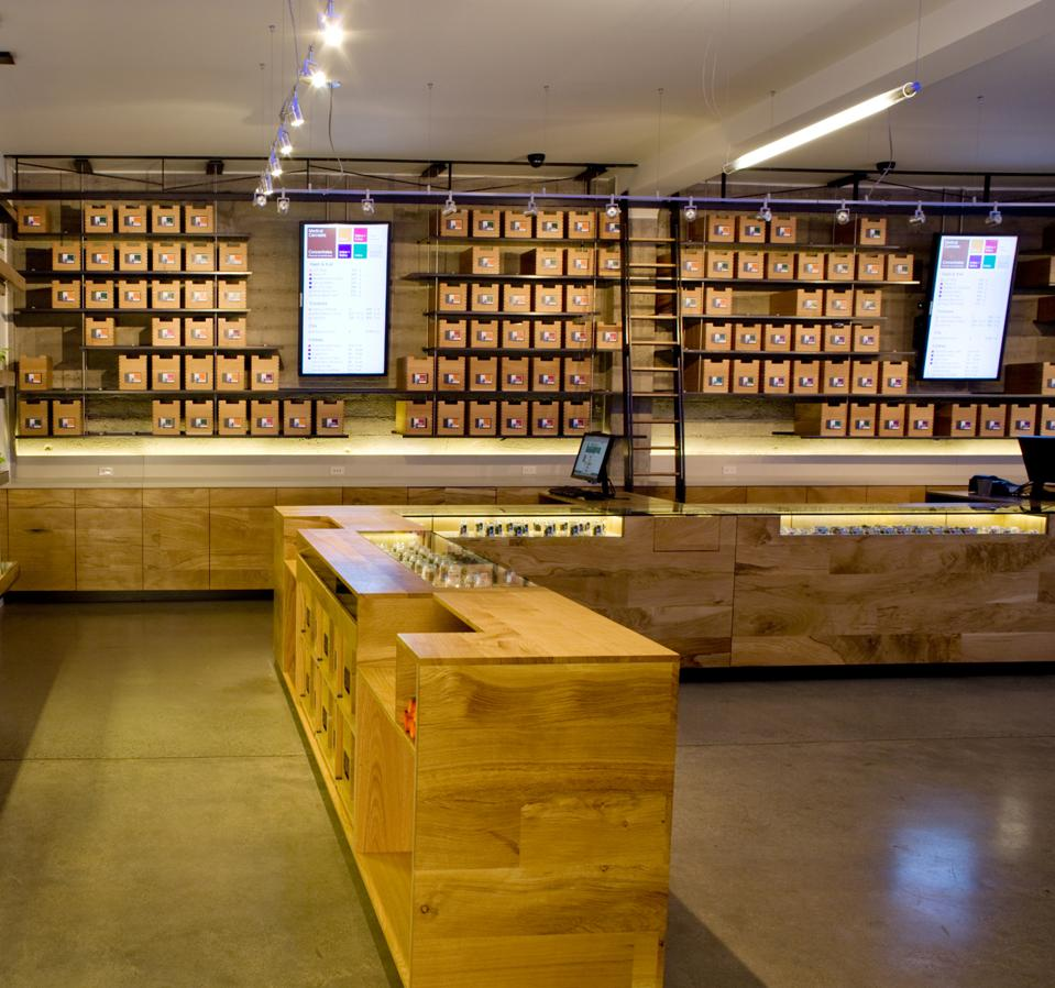 The SPARC Dispensary in the Mission in San Francisco