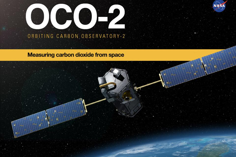Satellite studying carbon dioxide