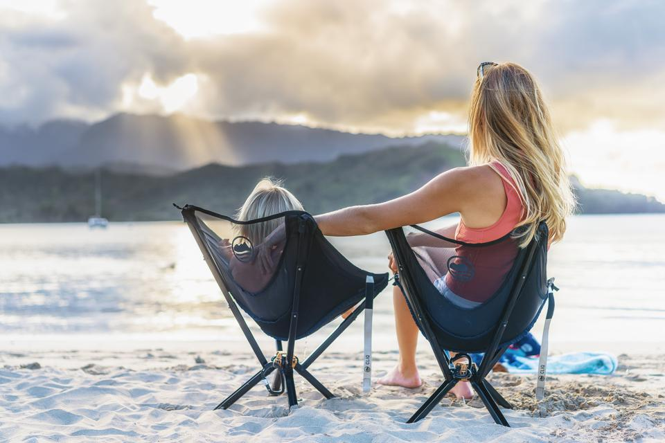 CLIQ's chairs make it easy to enjoy the outdoors