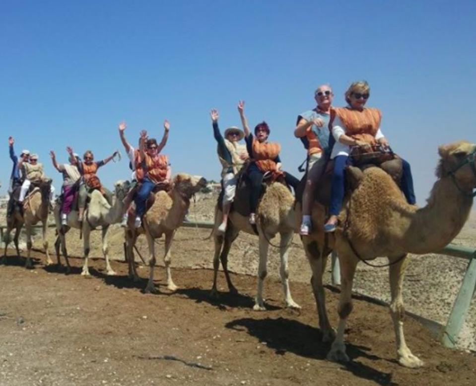 An senior tour in Israel