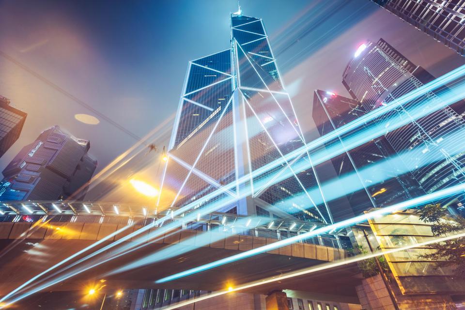 The Bank of China in Central, Hong Kong.
