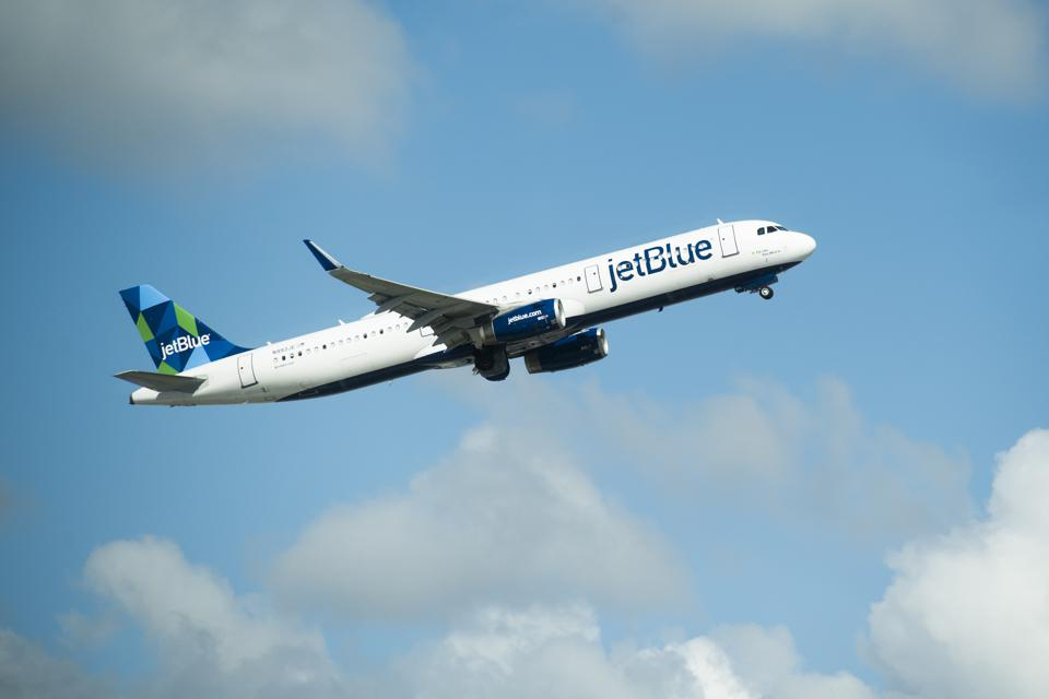 JetBlue face mask policy