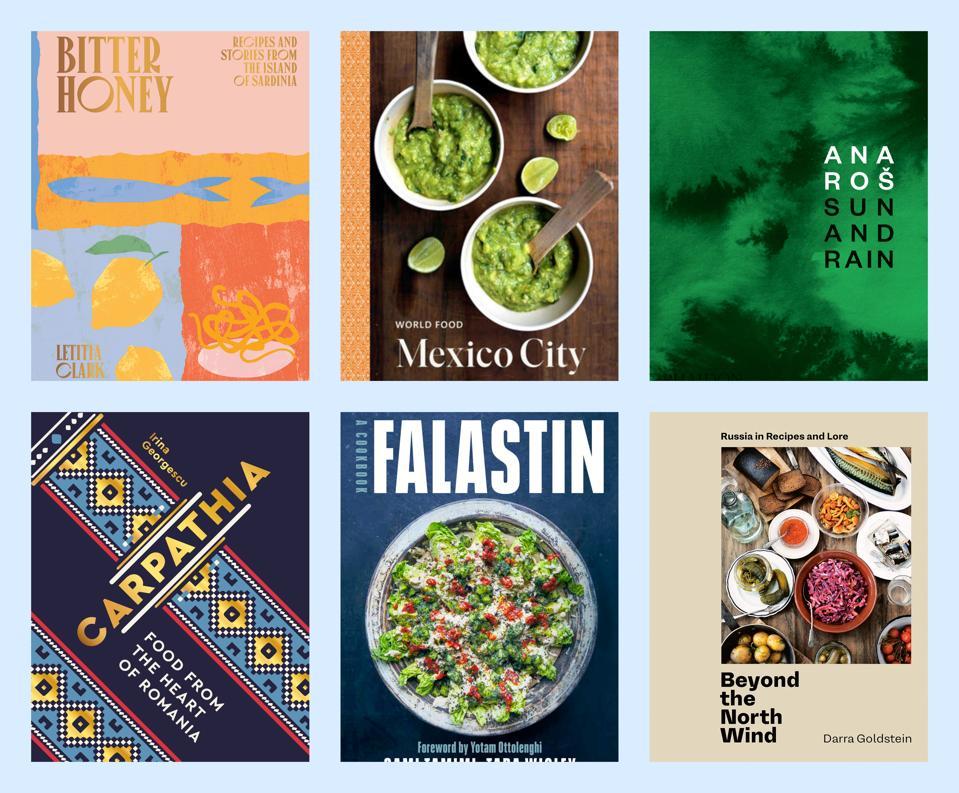 new travel cookbooks 2020