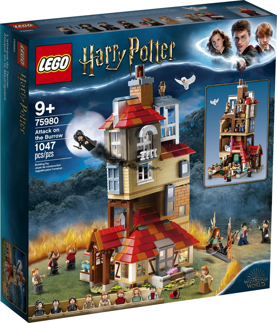 LEGO Harry Potter: Attack on The Burrow