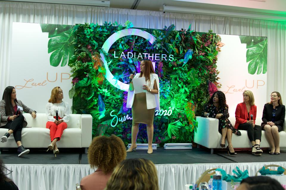 Thayer Lavielle, panel, GladiatHers®, women in sports