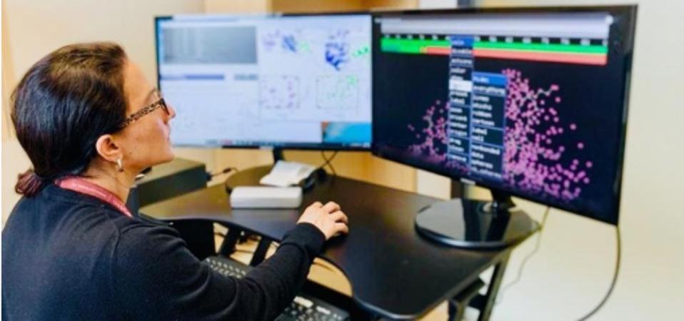 Edna Matta-Camacho, a biochemist now based at Canada's Carleton University, is founder of STEM sin fronteras.