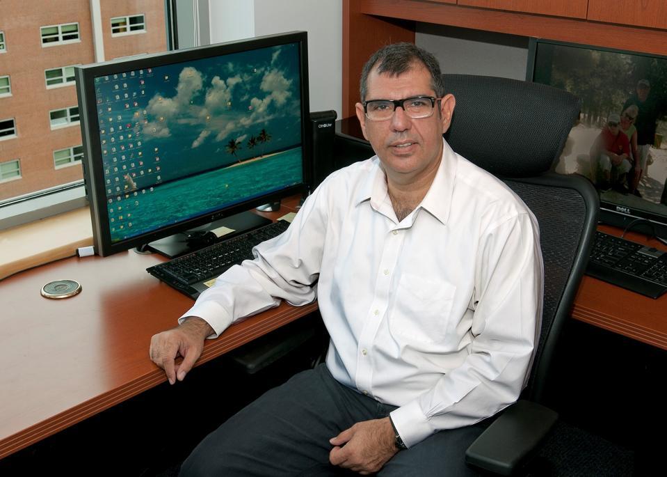 Johns Hopkins oncologist Nickolas Papadopoulos.