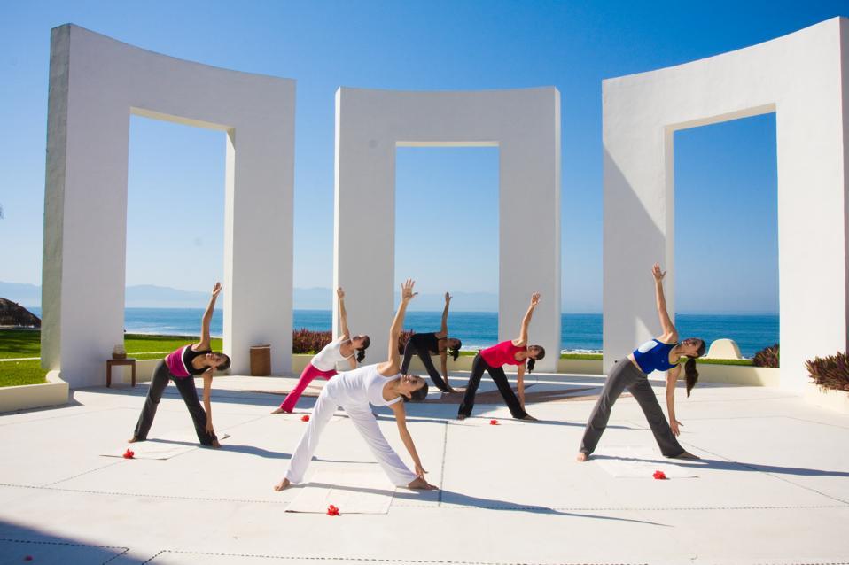 Yoga at Velas Resorts in Mexico
